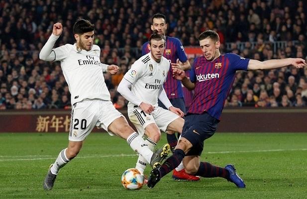 Real Madrid hòa Barcelona ở bán kết Clasico Copa del Rey