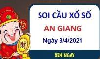 Soi cầu XSAG ngày 8/4/2021