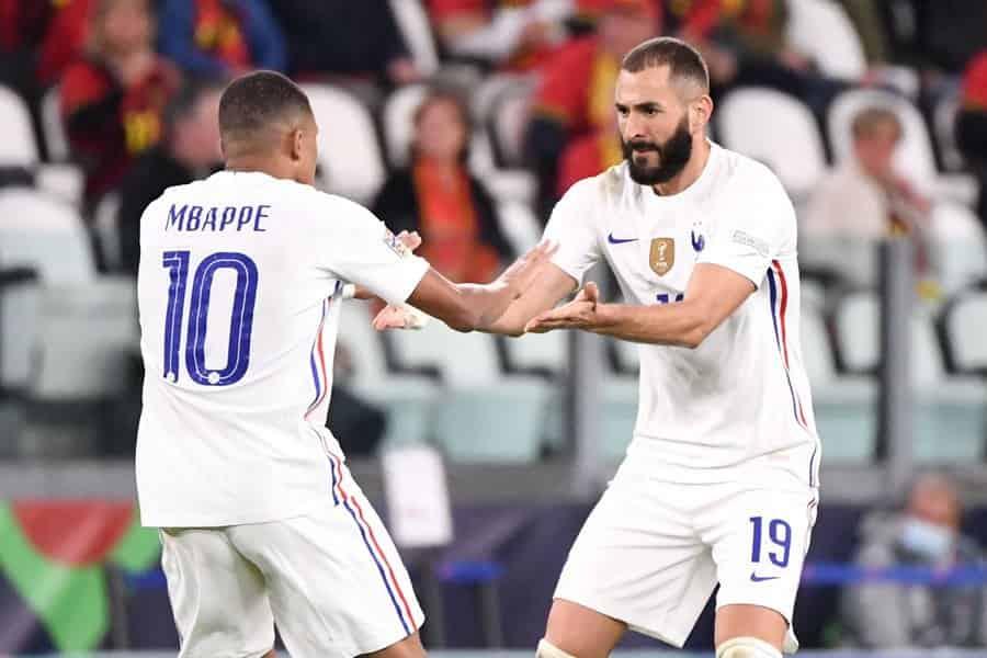 Kết quả UEFA Pháp 3-2 Bỉ: Mbappe chói sáng