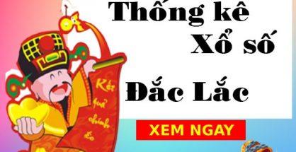 Thống kê xổ số Đắk Lắk 26/10/2021
